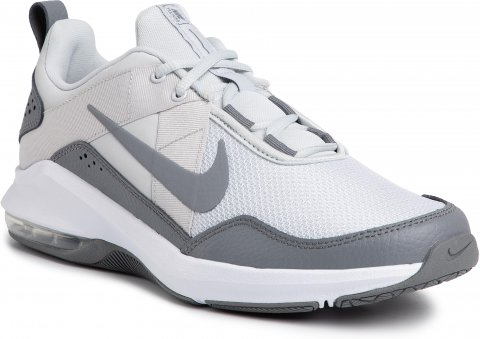 Boty NIKE -  Air Max Alpha Trainer 2 AT1237 003 Pure Platinum/Cool Grey/White (45)