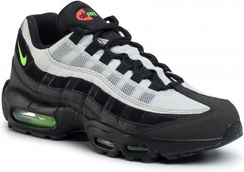 Boty NIKE - Air Max 95 Essential AT9865 004 Black/Electric Green (41)