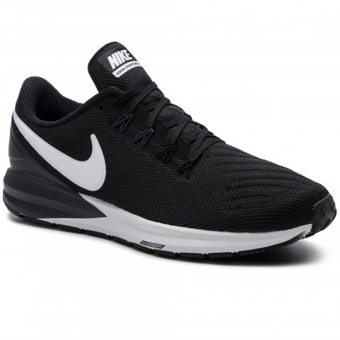 Boty NIKE - Air Zoom Structure 22 AA1640 002 Black/White/Gridron (39)